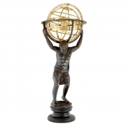 Statue Atlas with Globe