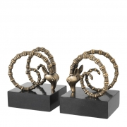 Bookend Ibex set of 2 02