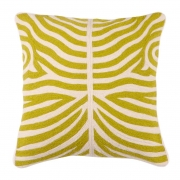 Pillow Zebra lime