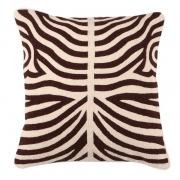 Pillow Zebra brown