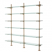 Wall Cabinet Pulitzer Double brass