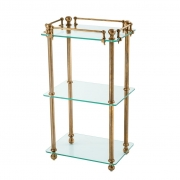 Bathroom Rack Devon brass